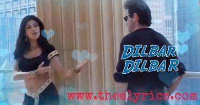 Dilbar Dilbar Lyrics