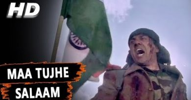 maa tujhe salaam lyrics