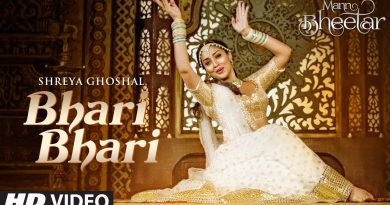 Bhari bhari lyrics