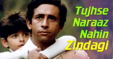 Tujhse Naraaz Nahin Zindagi Lyrics - Masoom Movie