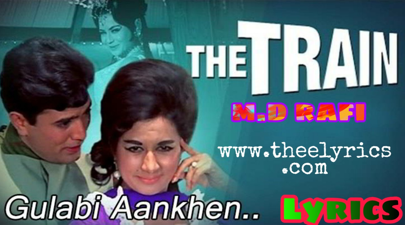 Gulabi Aankhein Lyrics