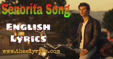senorita Song Lyrics
