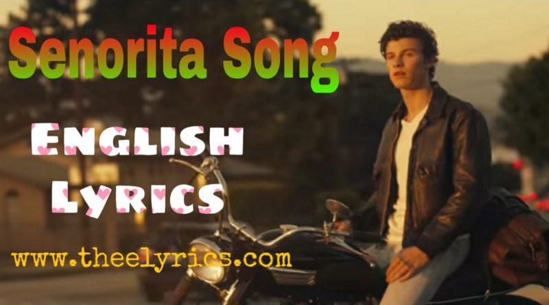 senorita Song Lyrics