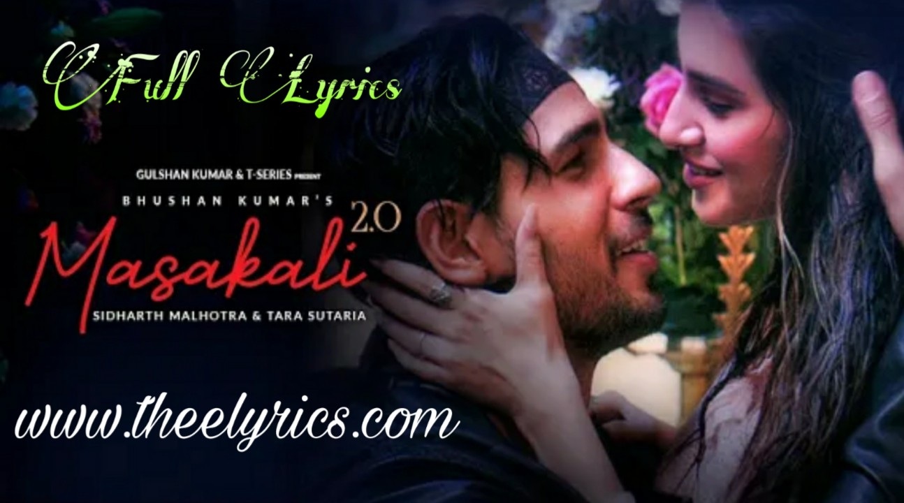 Masakali 2.0 Lyrics