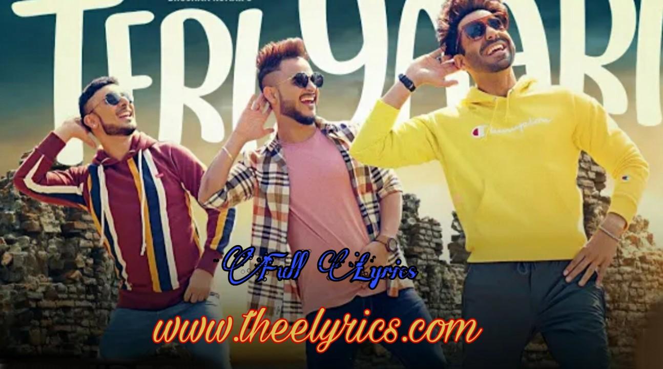 Teri Yaari lyrics - (Millind Gaba) | तेरी यारी लिरिक्स Aparshakti Khurana