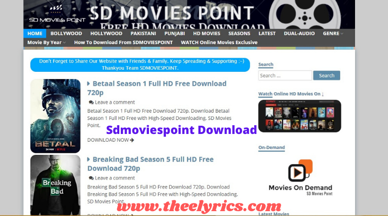 Sdmoviespoint Download 2020 - Bollywood, Hollywood Movies