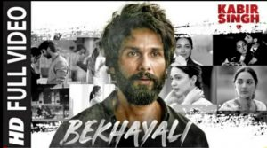 Bekhayali Lyrics in Hindi – Kabir Singh | Bekhayali song lyrics pdf
