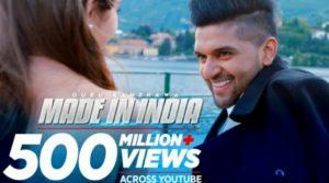 Made in india Lyrics in Hindi – Guru Randhawa | New song made in india