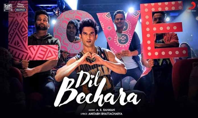 Dil Bechara Lyrics in Hindi