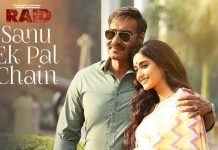 Sanu Ek Pal Chain Na Aave Lyrics in Hindi