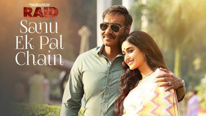Sanu Ek Pal Chain Na Aave Lyrics in Hindi