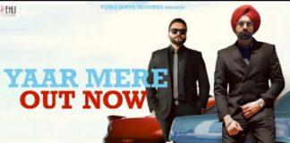 Yaar Mere Lyrics in English
