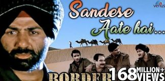 Sandese Aate Hai Hindi Lyrics in Hindi