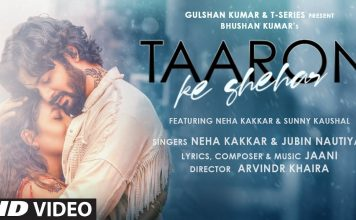 Taaron Ke Shehar Lyrics in Hindi