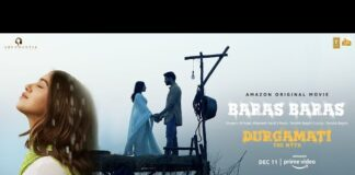 Baras Baras Lyrics Durgamati | B Praak, Tanishk Bagchi