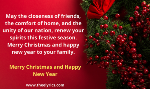 Merry Christmas and Happy New Year 2021 Image