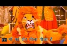 Bhavan Rangeela Maa Ka Sher Peela Peela Hai Lyrics
