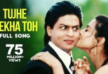 Tujhe Dekha To Yeh Jana Sanam Lyrics In Hindi