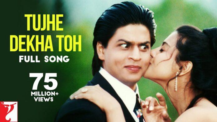 Tujhe Dekha To Yeh Jana Sanam Lyrics In Hindi